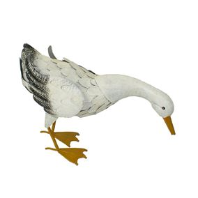 Farmyard Pecking Goose Ornament