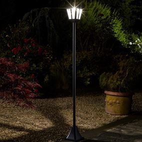 Whitehall Solar Powered Lamp Post Light