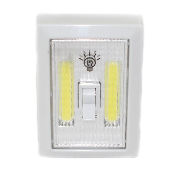 additional image for Battery Operated White Light Switch Night Light