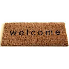 Quirky Welcome Doormat Insert (23 cm x 53 cm)