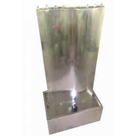 Bangalore Stainless Steel Wall Lit Water Feature