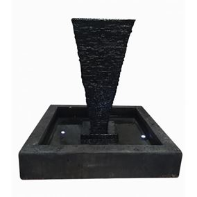 Saqqara Glass Reinforced Concrete Fountain Water Feature