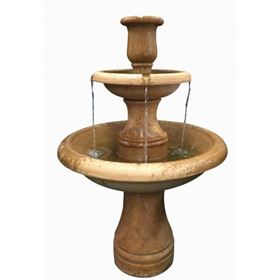 Kaelin Glass Reinforced Concrete Fountain Water Feature