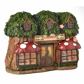 Elfridges Elevedon Collection Solar Powered Fairy House Light