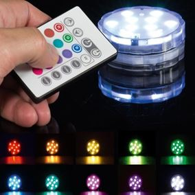 Colour Changing Weatherproof LED Light with Remote Control