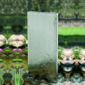 Rhine Flatbacked Wall Stainless Steel Water Feature 1.2m