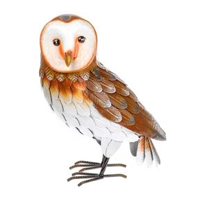 Meadow Metal Owl Garden Ornament