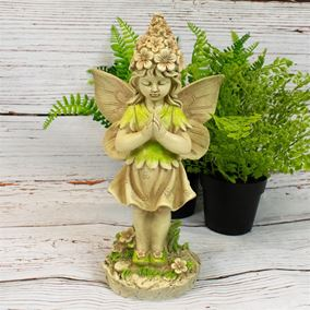 Secret Garden Meditating Fairy Ornament