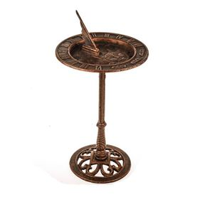 Cast Iron Garden Sundial with Stand