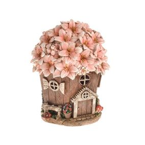 Secret Garden Small Round Solar Powered Fairy House