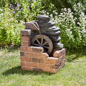 Heywood Water Mill Solar Water Feature