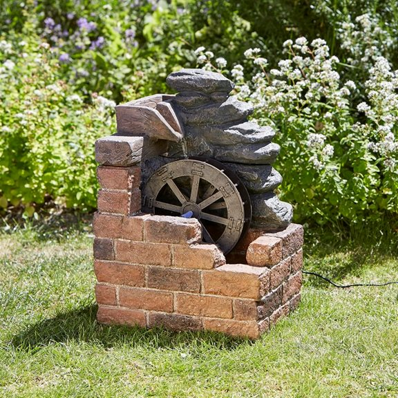 additional image for Heywood Water Mill Solar Water Feature