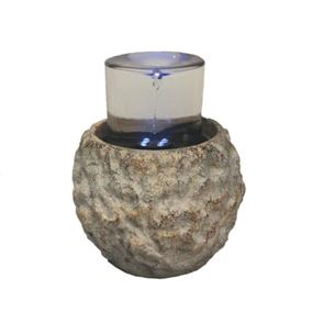 Isernia Indoor Tabletop Vortex Style Water Feature