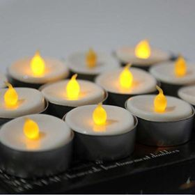 Flickering Tea Light Candles 12 Pack