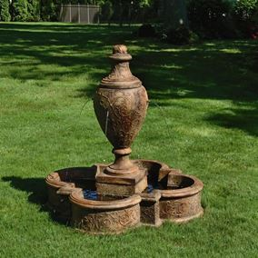 Cast Stone Jubilee Vase Fountain
