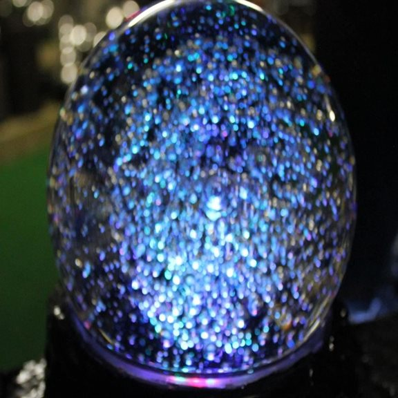 additional image for Large LED Spinning Crystal Ball Water Feature