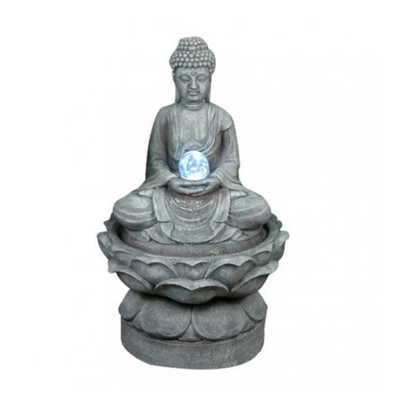 Medium Buddha with Crystal Ball Water Feature
