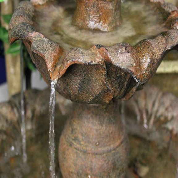 additional image for Three Tier Rust Fountain Water Feature