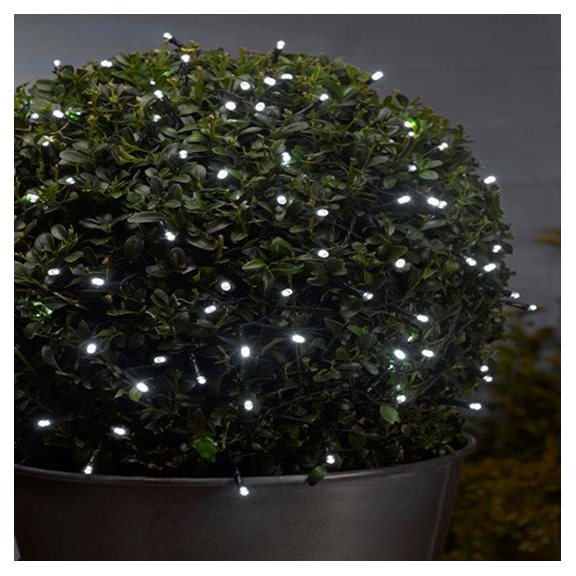 additional image for 500 White LED Battery Powered Multi Function String Lights