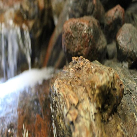 additional image for Large Boulder River Falls Water Feature with LED Lights