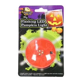 Flashing LED Light for Inside Pumpkins Battery Powered