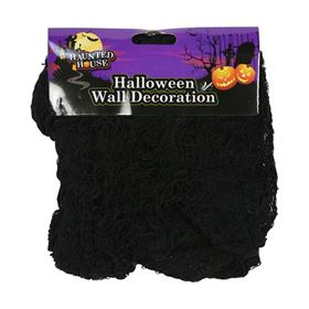 Creepy Black Wall Decorative Cover Halloween Decoration