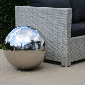 50cm Stainless Steel Ornamental Sphere