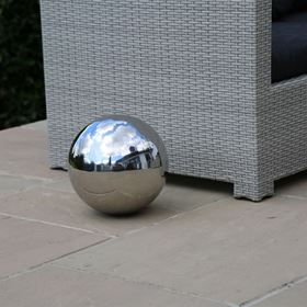 30cm Stainless Steel Ornamental Sphere