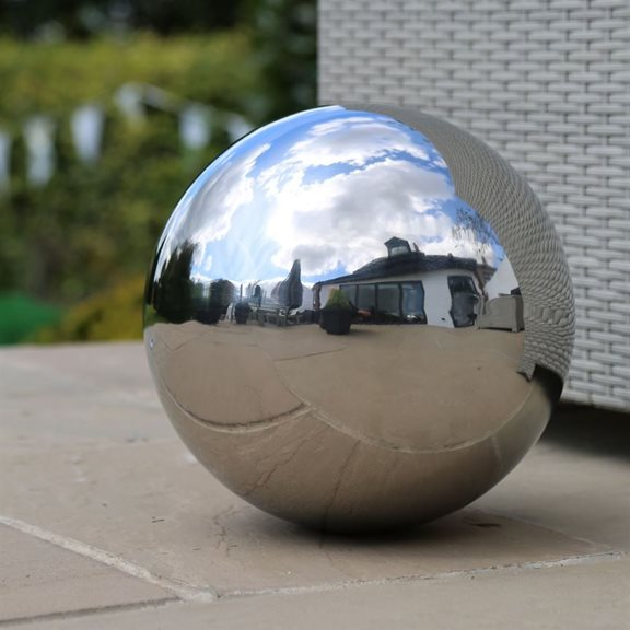 additional image for 60cm Stainless Steel Ornamental Sphere