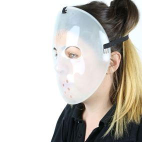 Glow in the Dark Jason Halloween Fancy Dress Mask