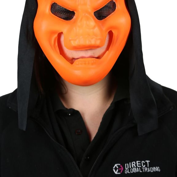 additional image for Neon Coloured Horror Fancy Dress Masks (Pack of 2)