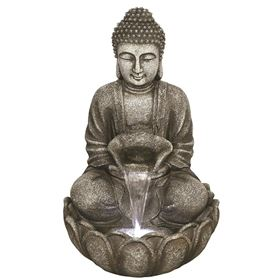Medium Grey Buddha Water Feature