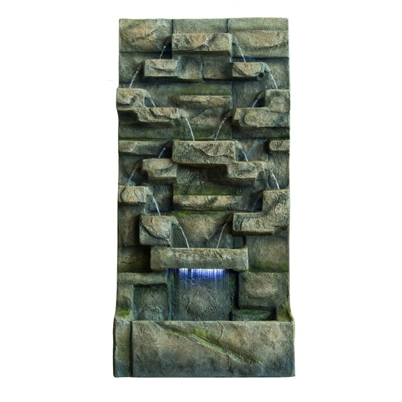 Extra Large Brown Water Wall Water Feature