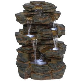 Denver Slate Falls Water Feature