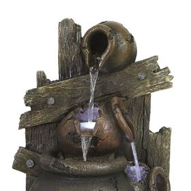 Cascading Multi Pots Water Feature