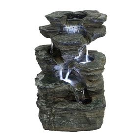 Indiana Slate Falls Water Feature