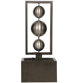 Argenta Zinc Metal Water Feature