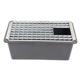 Medium Rectangular Galvanised Steel Water Feature Grid