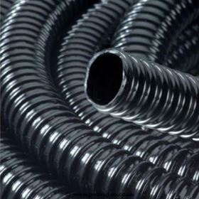 1/2 Inch/13mm Ribbed Black Water Feature Hose (1 Metre)