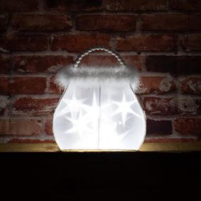 Battery Powered Handbag Light with White LEDs