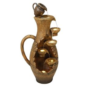 Large Open Handle Urn Water Feature