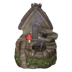 Fairy House Garden Water Feature