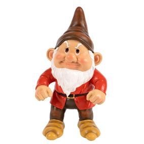 Assertive Angry Garden Gnome