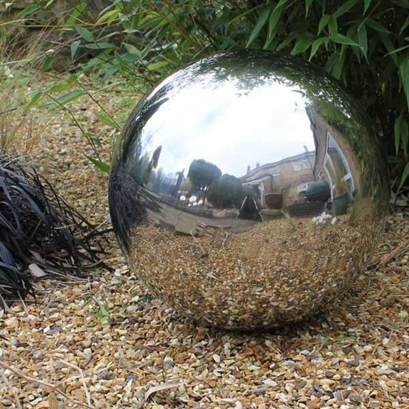 40cm Stainless Steel Ornamental Sphere