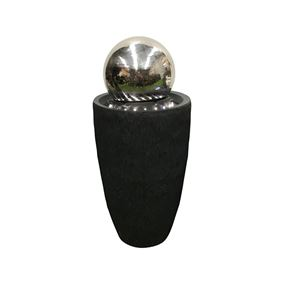 Spinning Stainless Steel Ball Water Feature