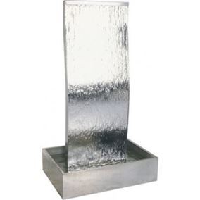 The Gavarnia Falls Stainless Steel Cascade Water Feature