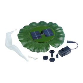Floating Lily Solar Pond Fountain