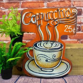 Cappuccino Garden and Home Wall Art