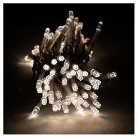 96 LED Twisted Warm White Display Lights Battery Operated