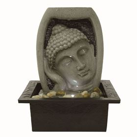 Parma Tranquil Buddha Face Indoor Water Feature